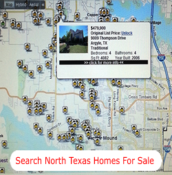 Search Flower Mound Homes